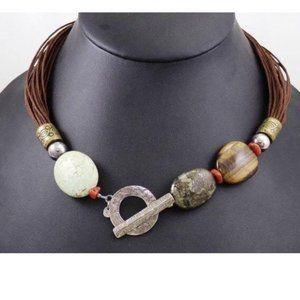 Silpada Multi-Cord Necklace N1891